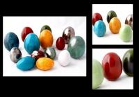 Ozdobne jajka duże